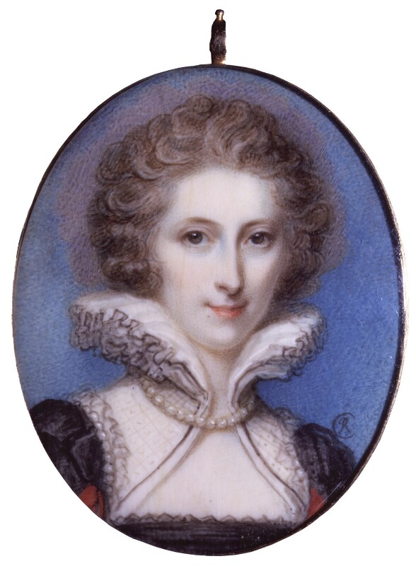 Anne Seymour Damer (née Conway), by Richard Cosway, 1785 - NPG 5236 - © National Portrait Gallery, London