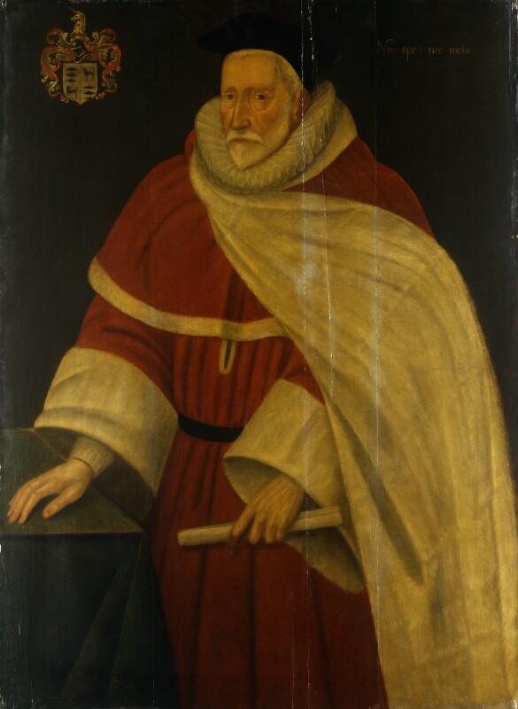 Sir William Daniel, by Unknown artist, circa 1604 - NPG 717 - © National Portrait Gallery, London