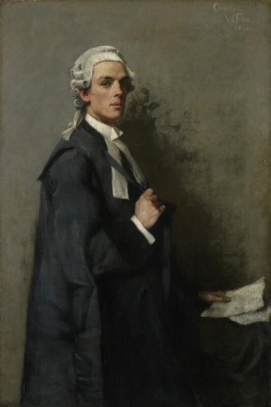 Charles John Darling, 1st Baron Darling, by Charles Wellington Furse, 1890 - NPG 3546 - © National Portrait Gallery, London