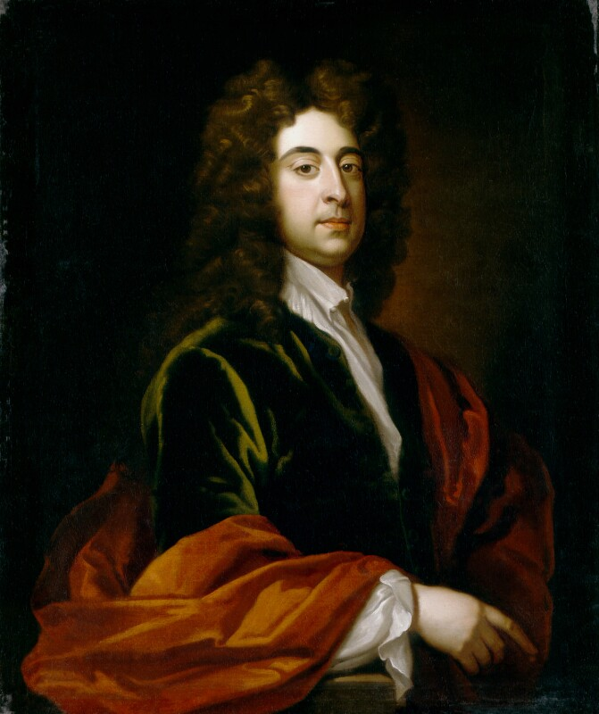 Charles Dartiquenave, by Sir Godfrey Kneller, Bt, based on a work of 1702 -NPG 3201 - © National Portrait Gallery, London
