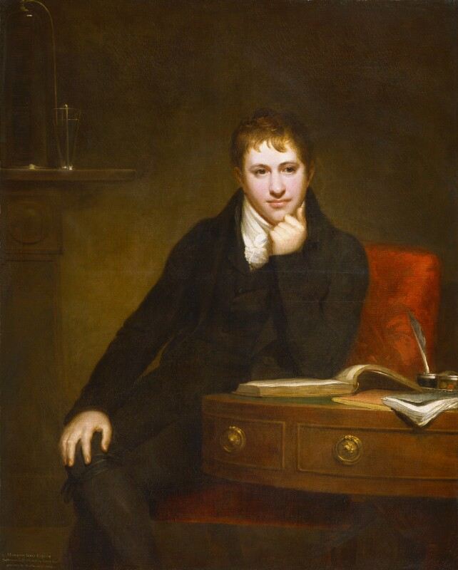 Sir Humphry Davy, Bt, by Henry Howard, 1803 -NPG 4591 - © National Portrait Gallery, London