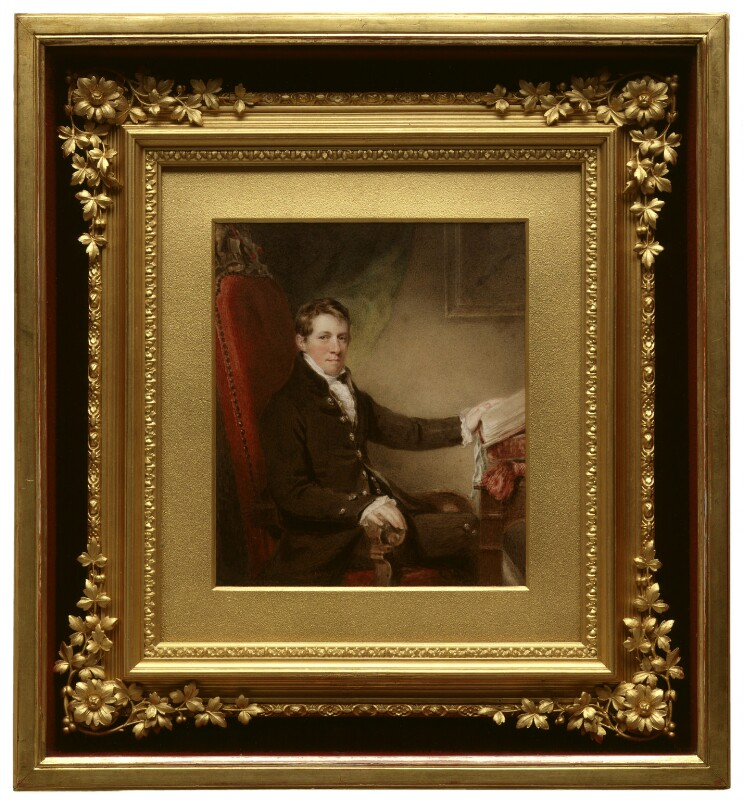Sir Humphry Davy, Bt, by John Jackson, circa 1820 -NPG 1794 - © National Portrait Gallery, London