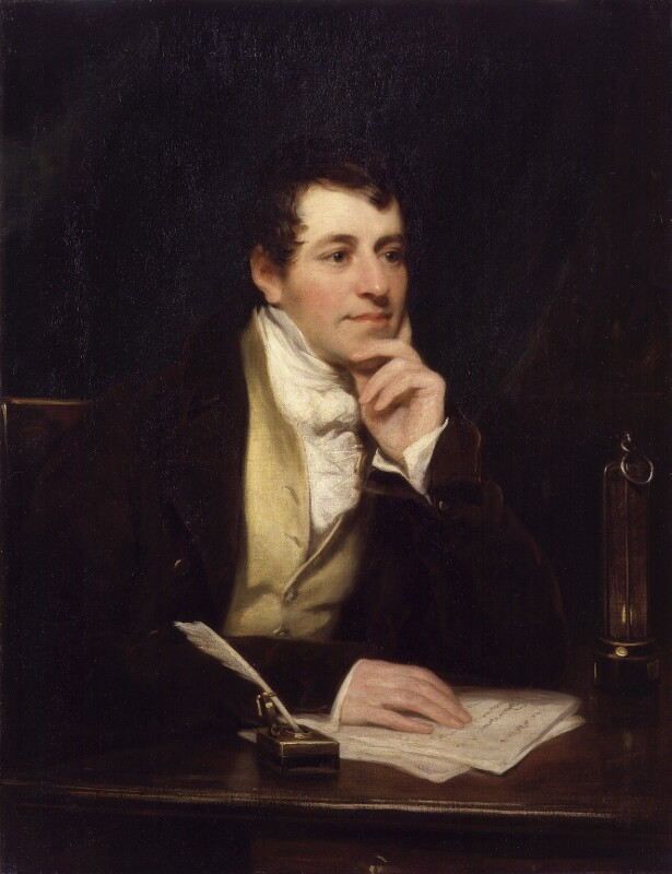 Sir Humphry Davy, Bt, by Thomas Phillips, 1821 - NPG 2546 - © National Portrait Gallery, London