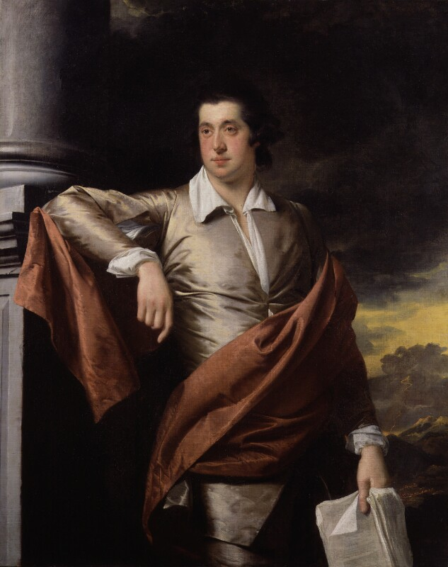 Thomas Day, by Joseph Wright, 1770 - NPG 2490 - © National Portrait Gallery, London