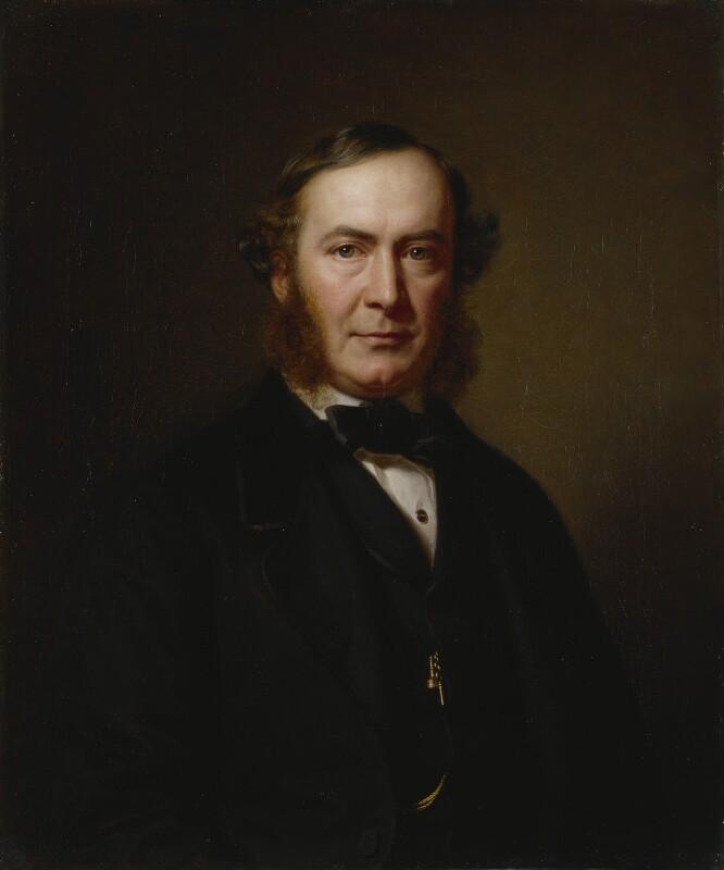 John Thadeus Delane, by Heinrich August Georg Schiött, 1862 - NPG 1593 - © National Portrait Gallery, London