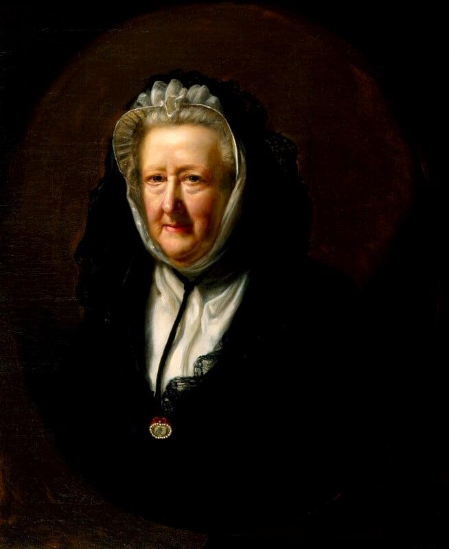 Mary Delany (née Granville), by John Opie, 1782 - NPG 1030 - © National Portrait Gallery, London