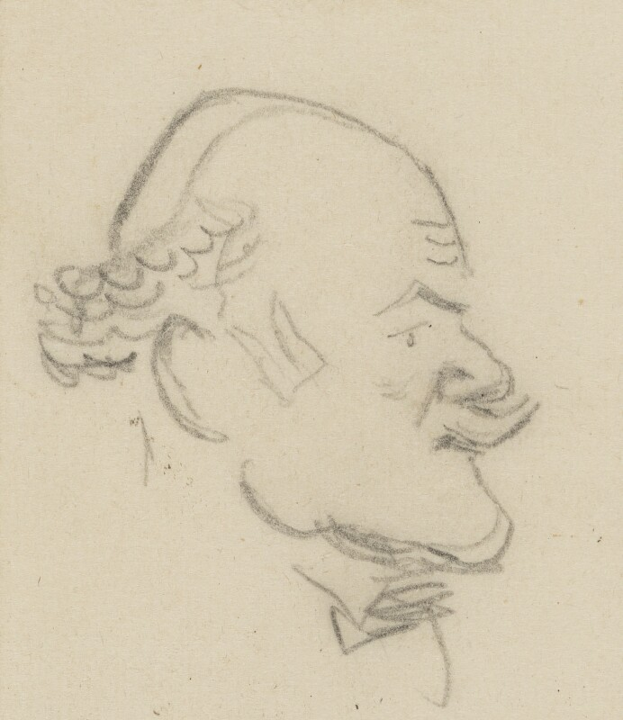 Philip Alexius de László, by Sir David Low, circa 1920s-1937 - NPG 4529(207) - © Solo Syndication Ltd