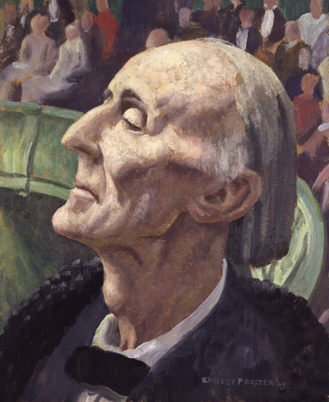 Frederick Delius, by Ernest Procter, 1929 - NPG 3861 - © National Portrait Gallery, London
