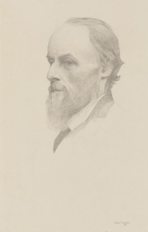 William De Morgan, by James Kerr-Lawson, 1908 -NPG 2116 - © National Portrait Gallery, London