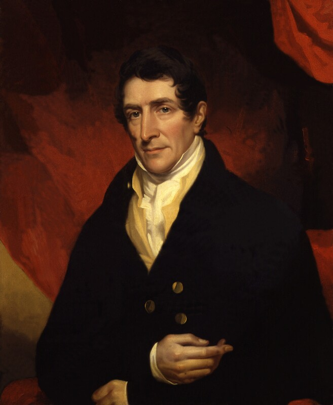 Thomas Denman, 1st Baron Denman, by John James Halls, exhibited 1819 -NPG 372 - © National Portrait Gallery, London