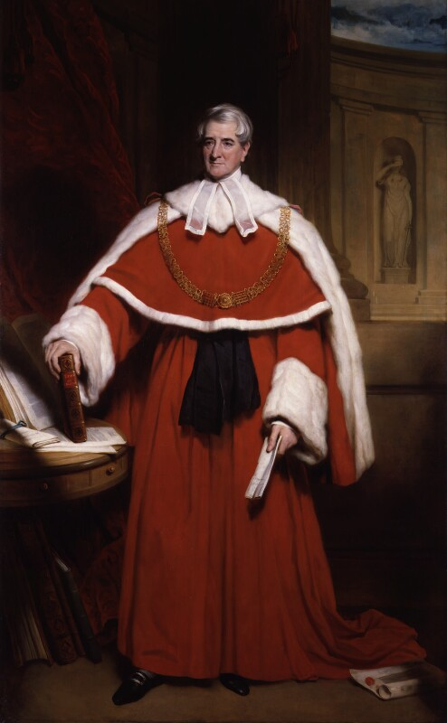 Thomas Denman, 1st Baron Denman, by Sir Martin Archer Shee, circa 1832 -NPG 463 - © National Portrait Gallery, London