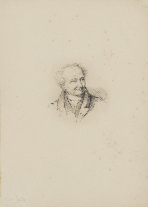 Dominique Vivant Denon, Baron Denon, by William Brockedon, 1824 - NPG 2515(3) - © National Portrait Gallery, London