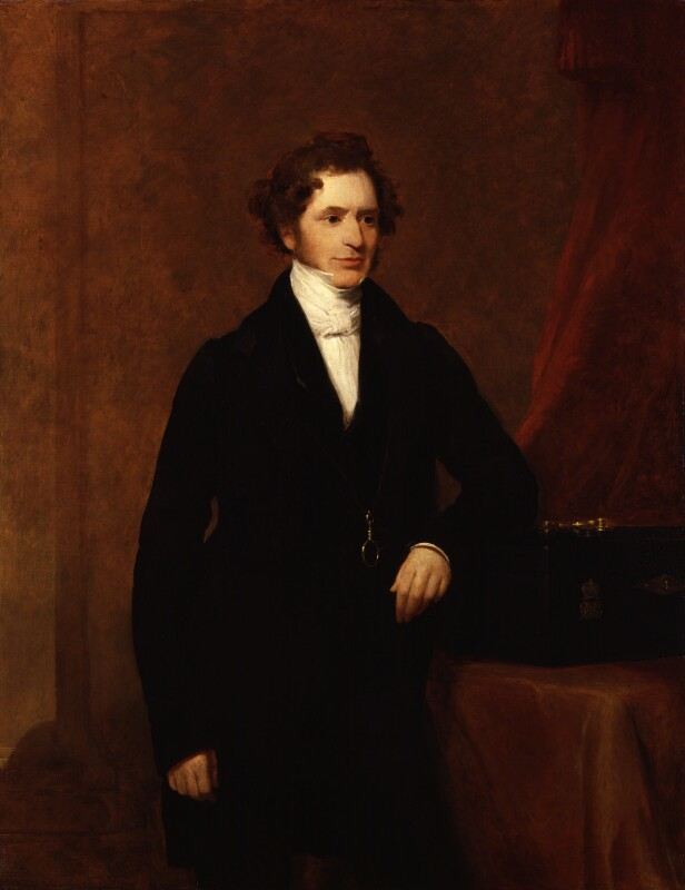 Edward Stanley, 14th Earl of Derby, by Frederick Richard Say, 1844 - NPG 1806 - © National Portrait Gallery, London