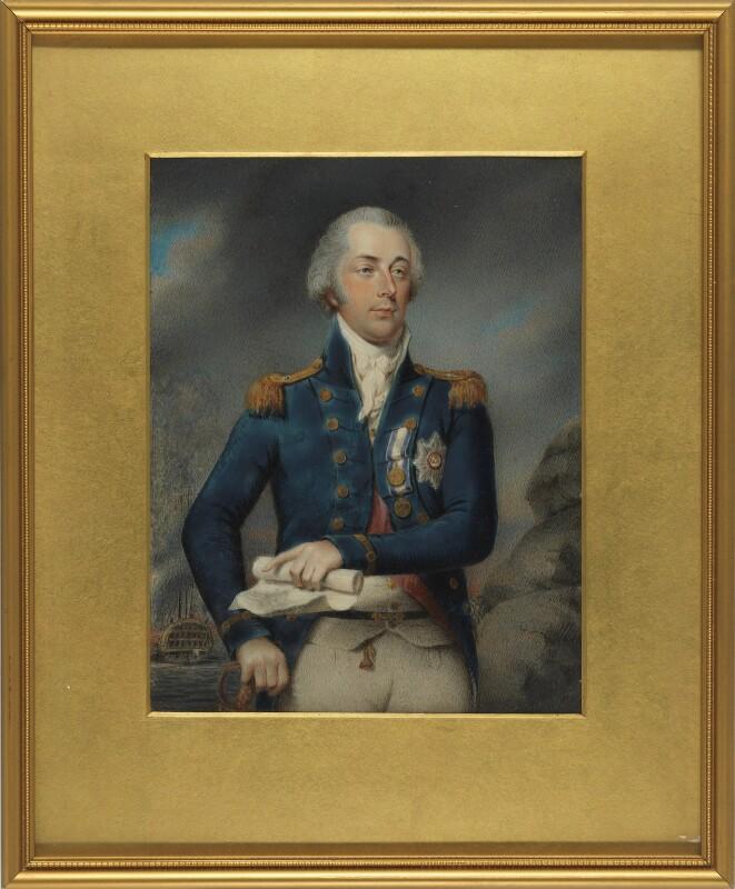 James Saumarez, 1st Baron de Saumarez, by Philip Jean, 1801 -NPG 2549 - © National Portrait Gallery, London