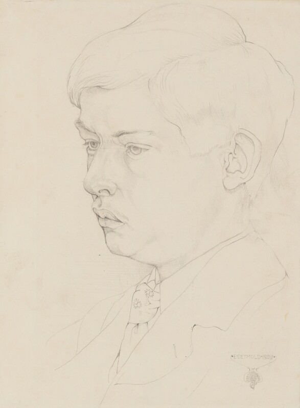 Charles Maurice Detmold, by Edward Julius Detmold, 1899 - NPG 3036 - © estate of Edward Julius Detmold; collection National Portrait Gallery, London