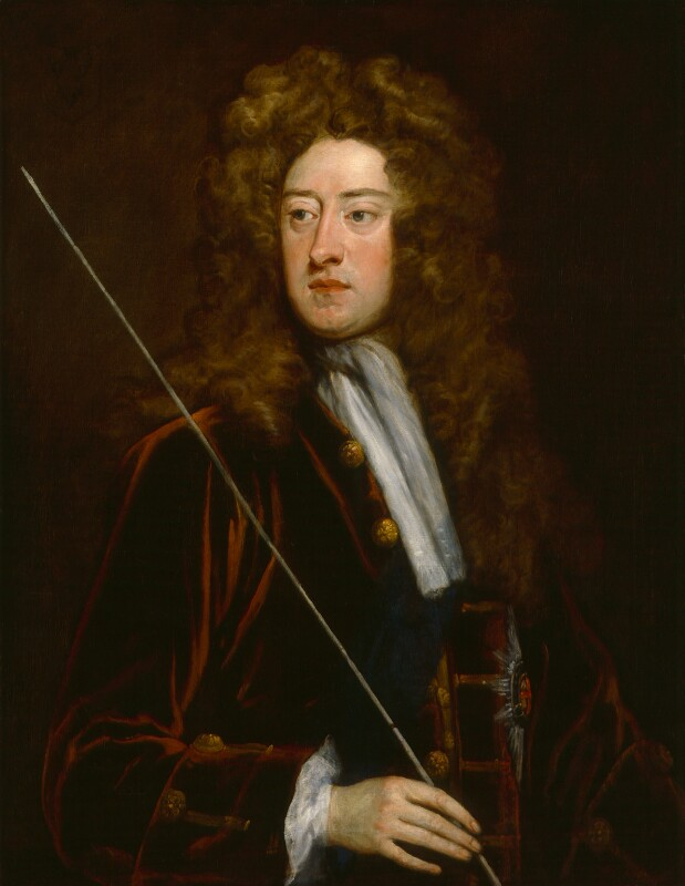 William Cavendish, 2nd Duke of Devonshire, by Sir Godfrey Kneller, Bt, circa 1715 -NPG 3202 - © National Portrait Gallery, London