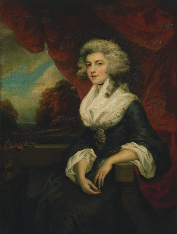Unknown woman, formerly known as Elizabeth Christiana Cavendish (née Hervey), Duchess of Devonshire, by John Westbrooke Chandler, circa 1790 - NPG 2355 - © National Portrait Gallery, London
