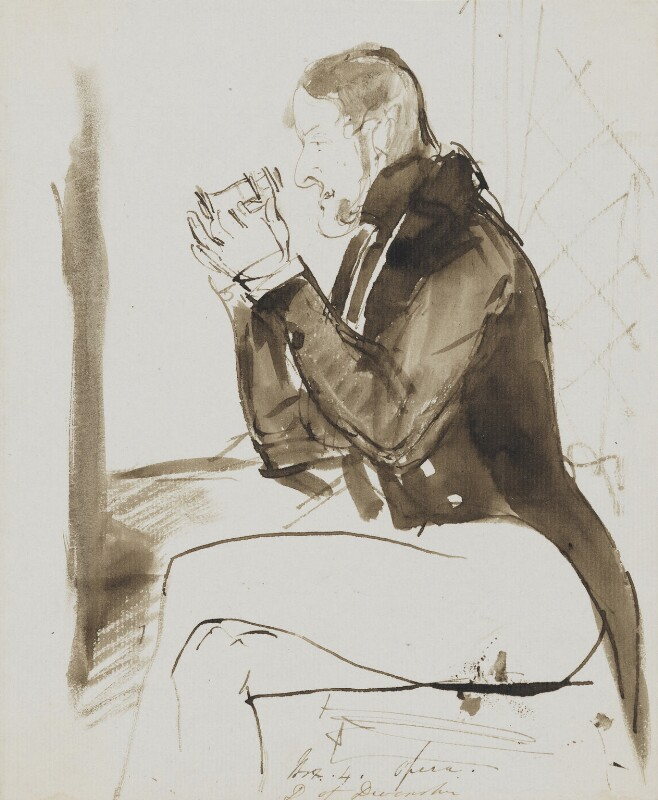 William George Spencer Cavendish, 6th Duke of Devonshire, by Edwin Landseer, circa 1832 - NPG 4916 - © National Portrait Gallery, London