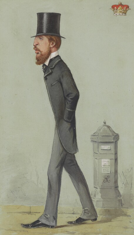 Spencer Compton Cavendish, 8th Duke of Devonshire, by Carlo Pellegrini, published in Vanity Fair 27 March 1869 - NPG 4715 - © National Portrait Gallery, London