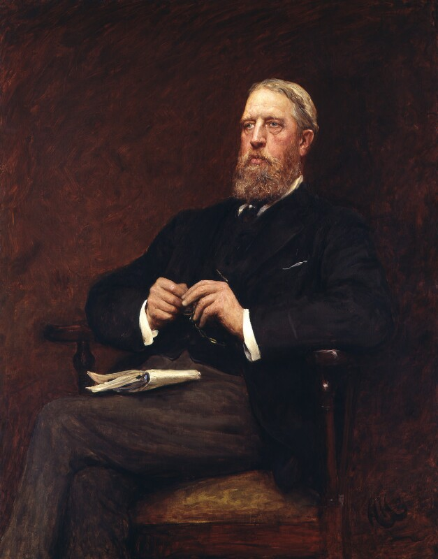 Spencer Compton Cavendish, 8th Duke of Devonshire, by Sir Hubert von Herkomer, 1897 - NPG 1545 - © National Portrait Gallery, London