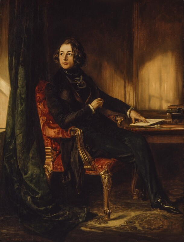 Charles Dickens, by Daniel Maclise, 1839 -NPG 1172 - Tate 2018: on loan to the National Portrait Gallery, London