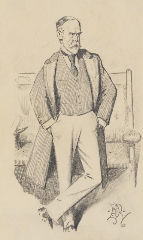 Sir Charles Wentworth Dilke, 2nd Bt, by Edward Tennyson Reed, circa 1902 - NPG 5154 - © National Portrait Gallery, London