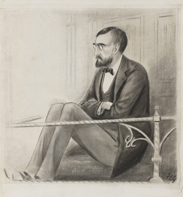John Dillon, by Sir Francis Carruthers Gould ('F.C.G.'), 1890s or 1900s? - NPG 2872 - © National Portrait Gallery, London