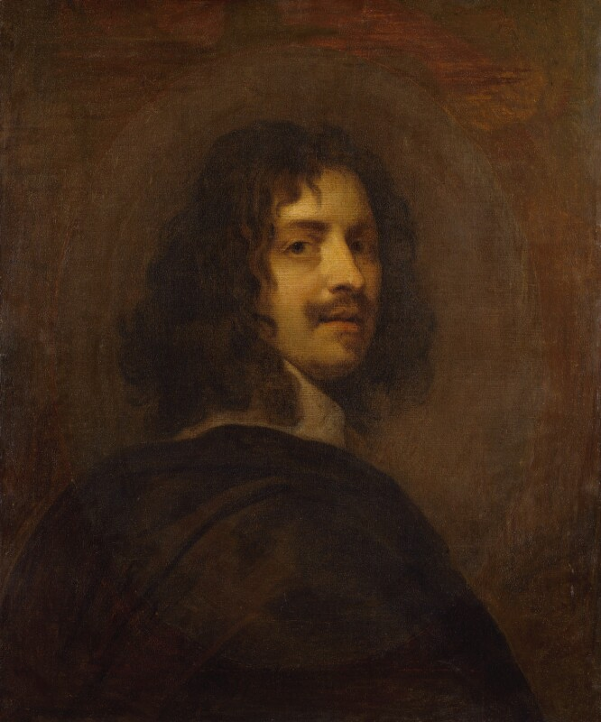 William Dobson, after a self-portrait by William Dobson, circa 1646, based on a work of 1642-1646 - NPG 302 - © National Portrait Gallery, London