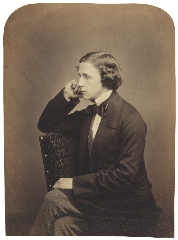 Lewis Carroll, by Lewis Carroll (Charles Lutwidge Dodgson), 2 June 1857 - NPG P39 - © National Portrait Gallery, London