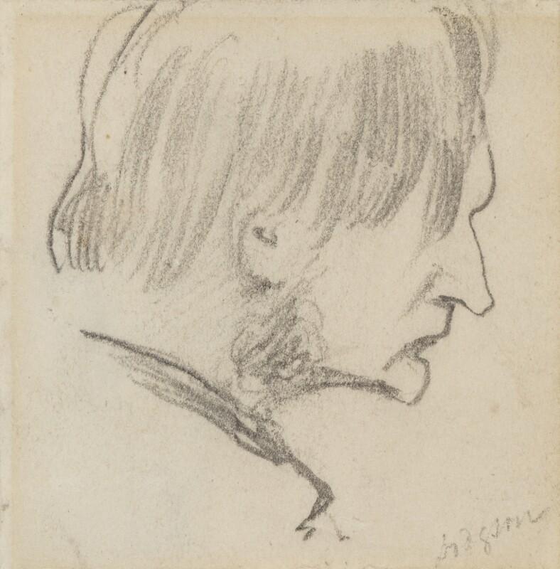 George Haydock Dodgson, by Charles Hutton Lear, circa 1845 - NPG 1456(4) - © National Portrait Gallery, London
