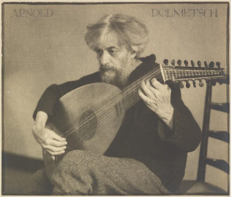 Arnold Dolmetsch, by Herbert Lambert, circa 1925 - NPG P108 - © National Portrait Gallery, London
