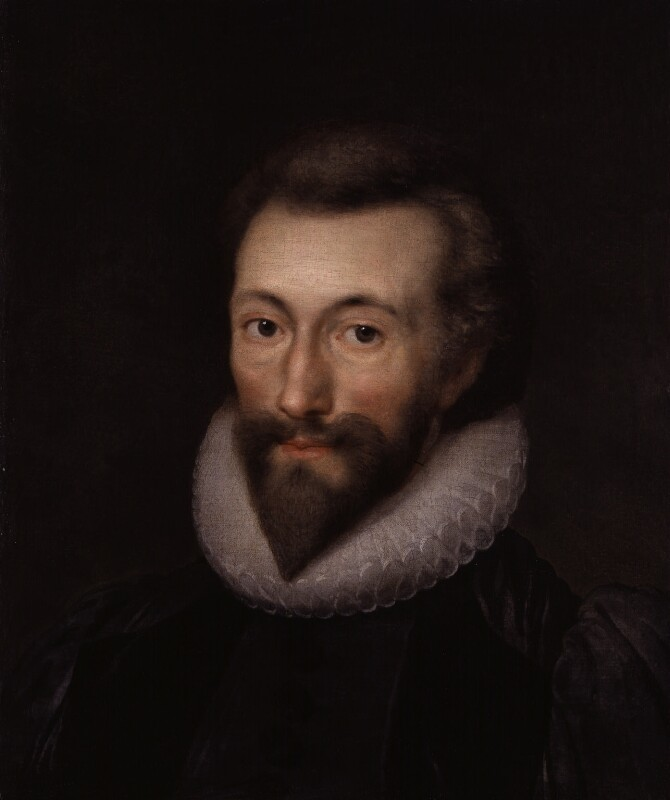 John Donne, after Isaac Oliver, possibly late 17th century, based on a work of 1616 - NPG 1849 - © National Portrait Gallery, London