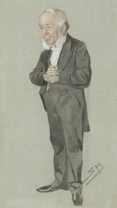 John Doran, by Sir Leslie Ward, published in Vanity Fair 6 December 1873 -NPG 1648 - © National Portrait Gallery, London