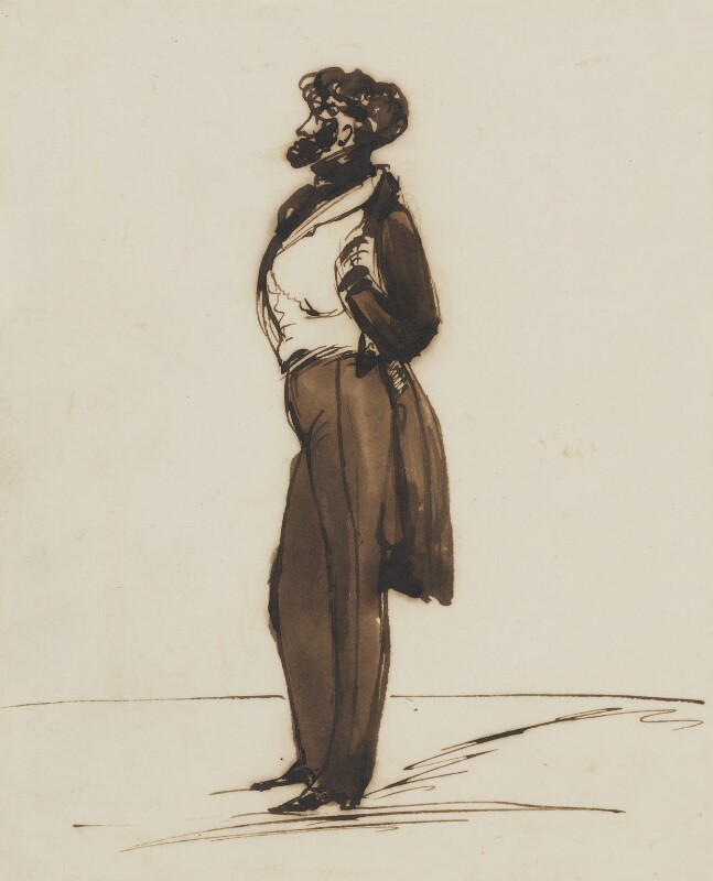 Alfred, Count D'Orsay, by Edwin Landseer, circa 1835 -NPG 4922 - © National Portrait Gallery, London