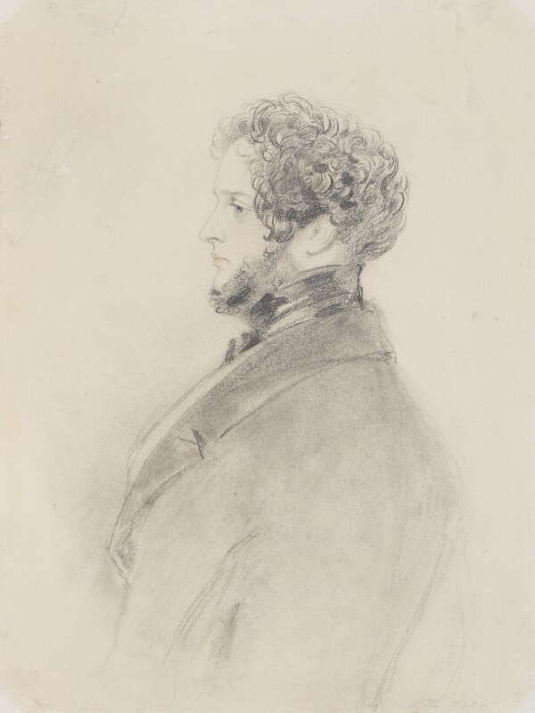 Alfred, Count D'Orsay, by Richard James Lane, 1841 - NPG 4540 - © National Portrait Gallery, London