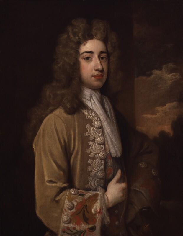 Lionel Sackville, 1st Duke of Dorset, by Sir Godfrey Kneller, Bt, circa 1712 - NPG 3205 - © National Portrait Gallery, London