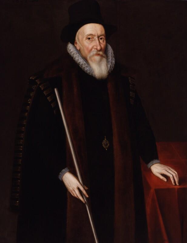 Thomas Sackville, 1st Earl of Dorset, by Unknown artist, 1601 - NPG 4024 - © National Portrait Gallery, London