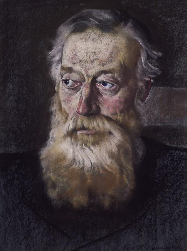 Charles Montagu Doughty, by Eric Kennington, 1921 -NPG 2113 - © National Portrait Gallery, London
