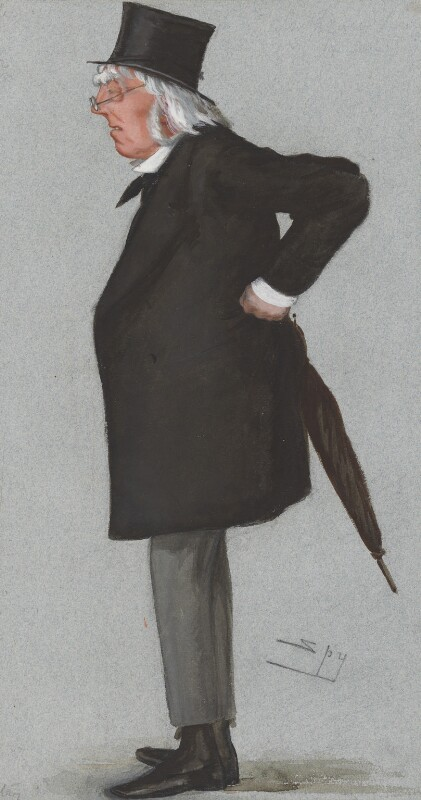 Sir Francis Doyle, 2nd Bt, by Sir Leslie Ward, published in Vanity Fair 24 November 1877 - NPG 2710 - © National Portrait Gallery, London