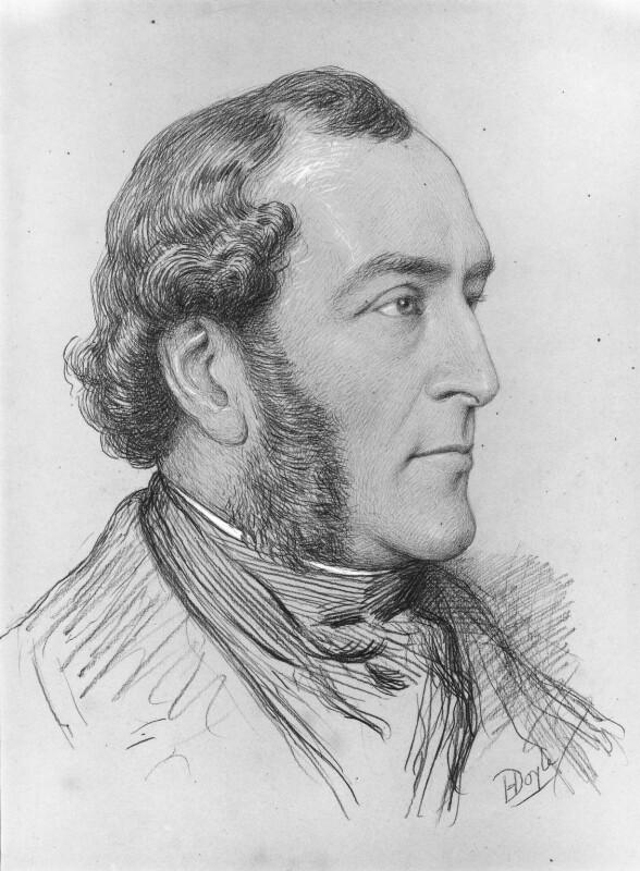 John ('HB') Doyle, by Henry Edward Doyle,  -NPG 2130 - © National Portrait Gallery, London