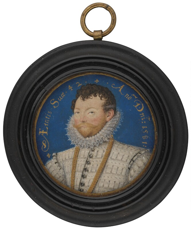 Sir Francis Drake, by Nicholas Hilliard, 1581 - NPG 4851 - © National Portrait Gallery, London