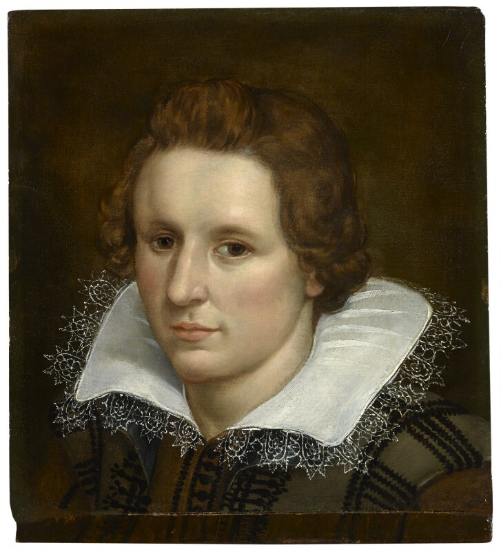 Unknown man, possibly William Drummond of Hawthornden, by Unknown artist, circa 1610 - NPG 1195 - © National Portrait Gallery, London