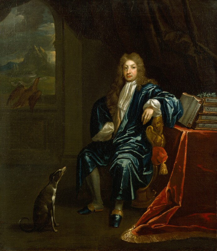 John Dryden, by James Maubert, after 1700 -NPG 1133 - © National Portrait Gallery, London