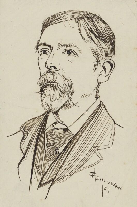 George Du Maurier, by Edmund Joseph Sullivan, 1891 - NPG 2899 - © National Portrait Gallery, London