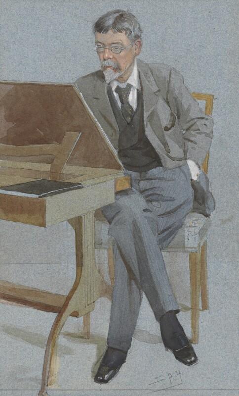George Du Maurier, by Sir Leslie Ward, 1895-1896 - NPG 2711 - © National Portrait Gallery, London