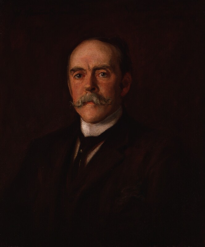 Sir Henry Mortimer Durand, by W. Thomas Smith, 1903-1904 - NPG 2128 - © National Portrait Gallery, London