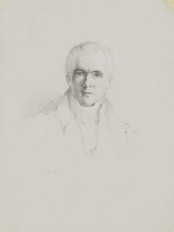Joseph Chessborough Dyer, by William Brockedon, 1831 -NPG 2515(55) - © National Portrait Gallery, London