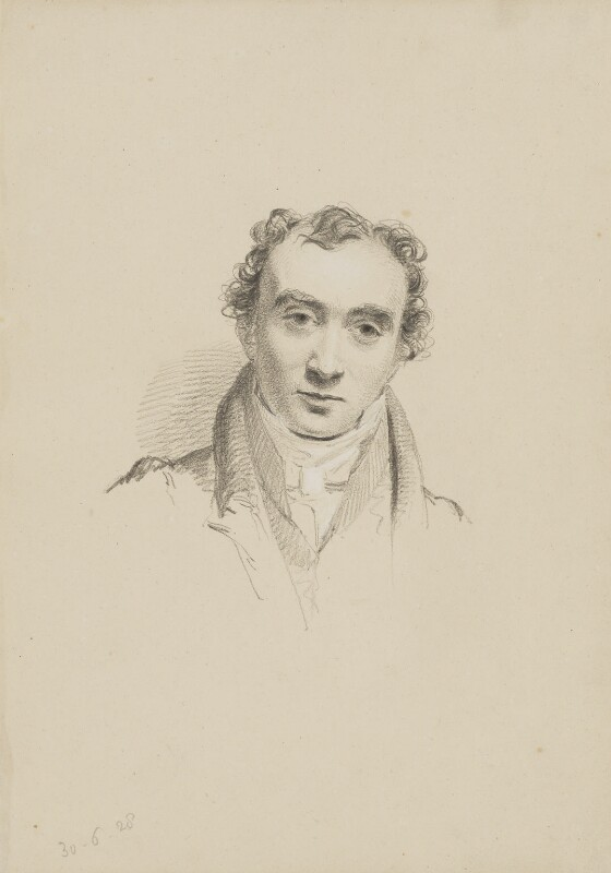 Sir Charles Lock Eastlake, by William Brockedon, 1828 - NPG 2515(16) - © National Portrait Gallery, London