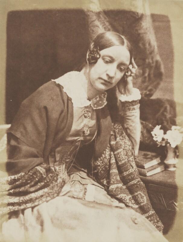 Elizabeth (née Rigby), Lady Eastlake, by David Octavius Hill, and  Robert Adamson, 1843-1848 - NPG P6(124) - © National Portrait Gallery, London