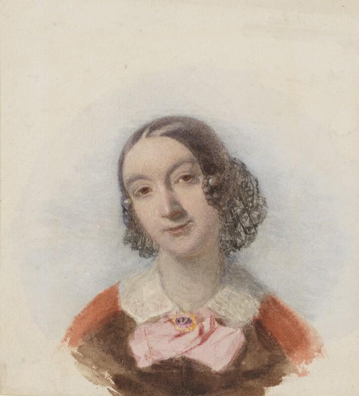 Elizabeth (née Rigby), Lady Eastlake, by John Richard Coke Smyth,  -NPG 2533 - © National Portrait Gallery, London
